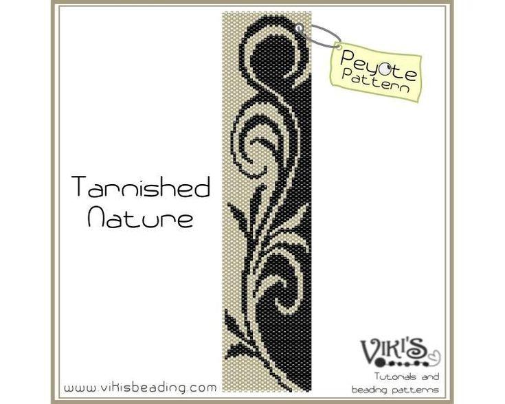 tribal+pattern+Peyote+Stitch+Designs   Tarnished Nature: Peyote Pattern Pattern