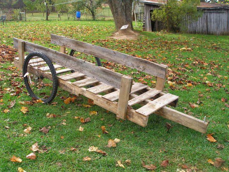 Thy Hand Hath Provided: Pallet Trailer for Lawn Mower/Tractor