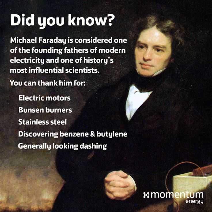 People have been busting myths about #energy for centuries now, and Michael Faraday is one of the greatest minds to ever tackle it. The chap had #swag, too. #mythbuster #cosmos #electricity #science