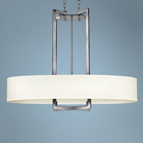 Hinkley hampton collection 40 wide nickel pendant light large pendant lightingmodern pendant lightpendant lightscontemporary light fixtureshome