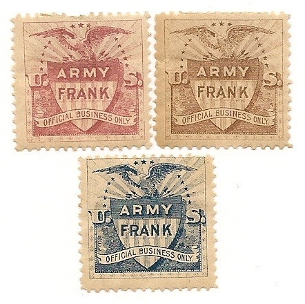Local U.S. stamps, Army Frank