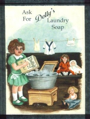 Wood Retro Primitive Vintage Country Dolly's LAUNDRY Room Sign Primitive Art