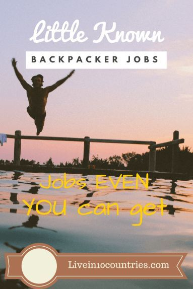 Undiscovered jobs you could snag as a backpacker! Here's a few little known jobs and industries that could make all the difference for anyone seeking work/travel jobs in Australia, Canada, Asia or any other backpacker destination.