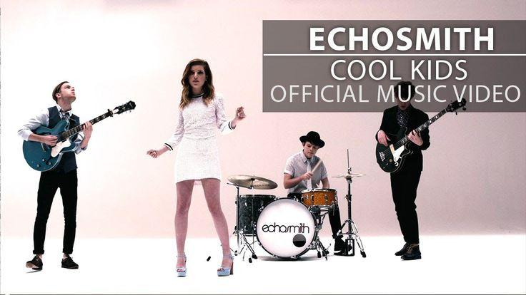 Cool Kids by Echosmith, very catchy song, the idea of being 'cool' is standing out and being your own person. What do you think?