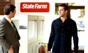 Once again, the use of an athlete is a great strategy to break from the clutter. In this advertisement, star quarterback Aaron Rodger is featured. The target audience for state farm is married couples. The ad is very successful because of how well known, especially in Wisconsin Aaron Rodgers is.