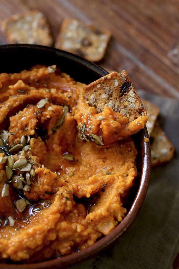 Тыквенный Хуммус / Pumpkin Hummus