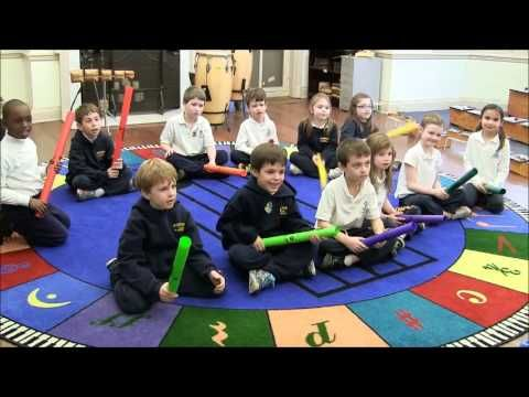 ▶ First Graders Play Boomwhackers - YouTube