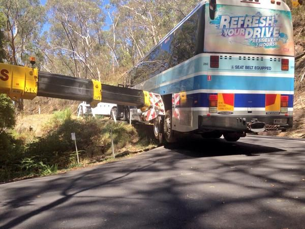 South Australia - Live feed news - ninemsn, Nine News - 9news.com.au-a tour bus, after the driver takes a wrong turn in the Adelaide Hills Read more at http://www.9news.com.au/south-australia#QrVCReS1h8OUSJSR.99