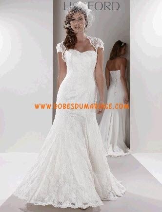 Sassi Holford robe de mariée longueur ras du sol avec boléro satin