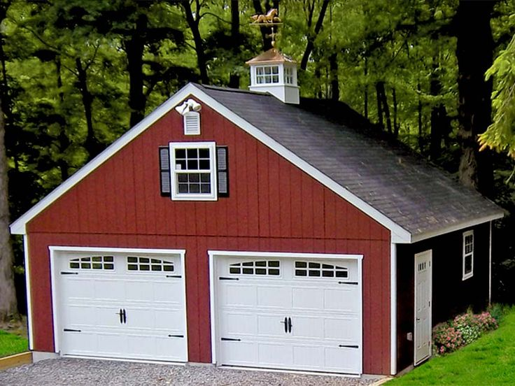 20 best images about barn on pinterest cars shop plans for Red barn prefab