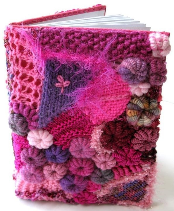 Knitting Pattern Book Cover : book cover knitting Pinterest