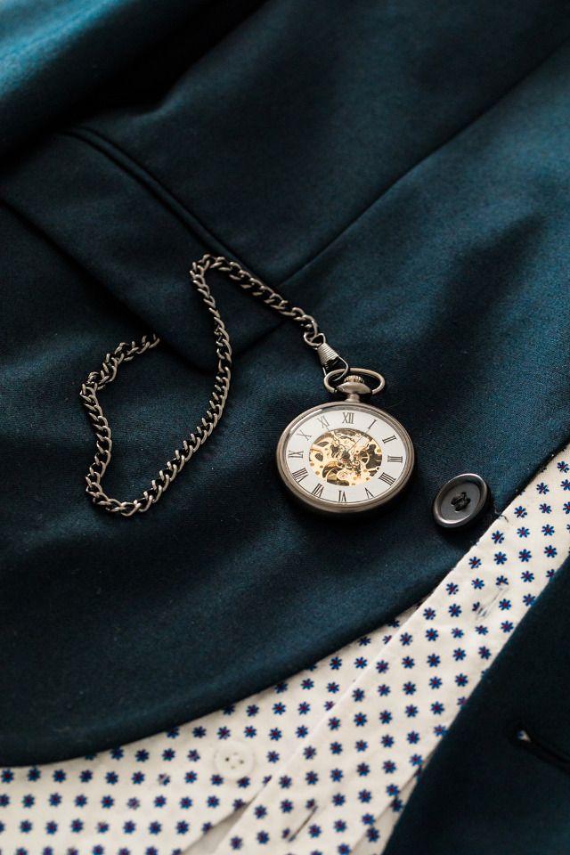 Groomsmen gift idea - personalized pocket watch