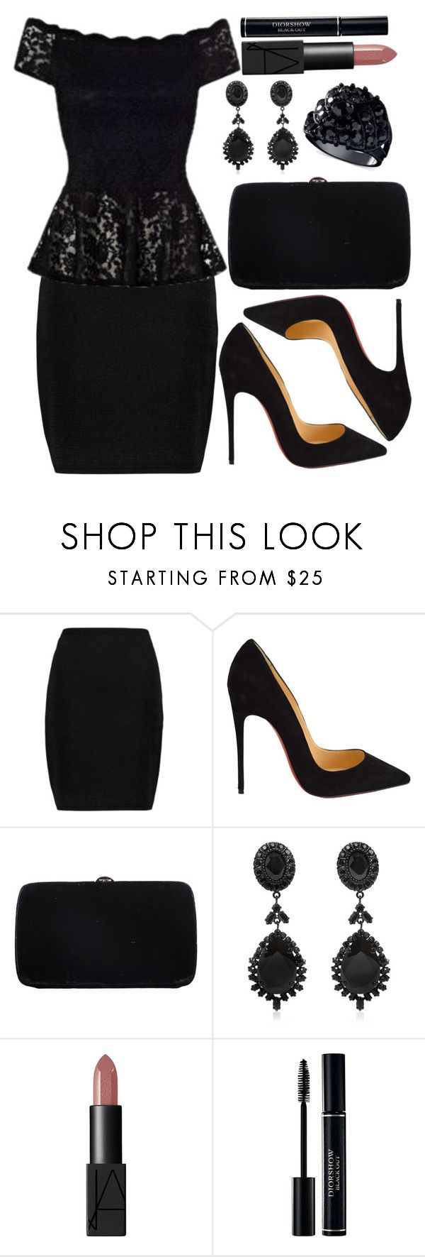 """Untitled #3567"" by natalyasidunova ❤ liked on Polyvore featuring Alexander Wang, Christian Louboutin, Sergio Rossi, Givenchy, NARS Cosmetics, GUESS, women's clothing, women, female and woman"