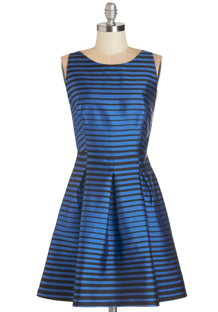 Corey Lynn Calter Cause and Elect Dress | Mod Retro Vintage Dresses | Stripe Dress | Holiday Party | Cute