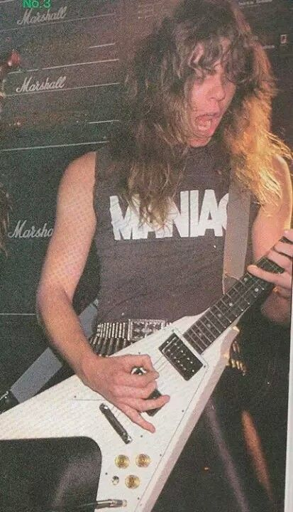 """ACTING LIKE A MANIAC! WHIPLASH!"" ~ JAMEZ HETFIELD~"