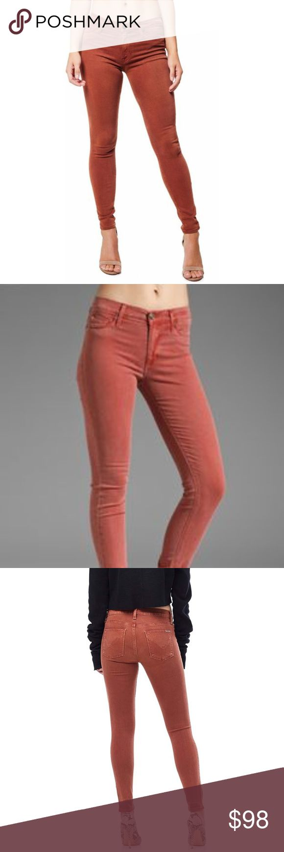 """HUDSON Midrise Ankle Super Skinny Jeans NWT! In Distressed Sepia Ankle-grazing skinny jeans constructed from American-made stretch denim add a svelte, footwear-flaunting look to your denim rotation.  *27"""" inseam; 11"""" leg opening; 9 1/2"""" front rise; 13"""" back rise (size 29). *Zip fly with button closure. *Five-pocket style. *43% viscose, 33% cotton, 17% lyocell, 5% polyester, 2% elastane.  ❌NO TRADES  I❤️Bundles ❤️REASONABLE OFFERS ONLY PLEASE❤️ Hudson Jeans Jeans Skinny"""