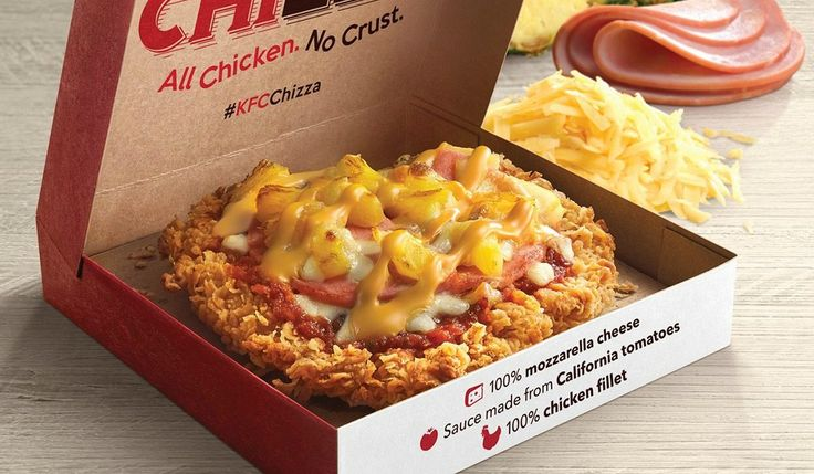 KFC Is Now Selling Pizza Made With A Fried Chicken �Crust�