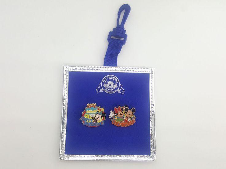 Adventures by Disney Minnie Mickey Mouse Pin Happy Birthday Let's Celebrate  #Disney
