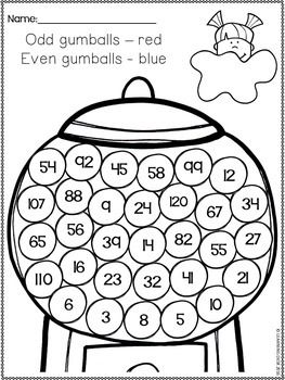 Odd and Even Numbers WorksheetsEven and Odd Numbers