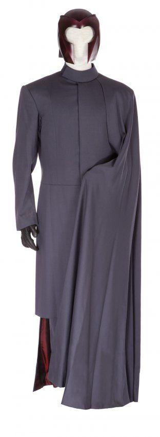 "Costume worn by Ian McKellen as Magneto in ""X-Men"" (2000)."