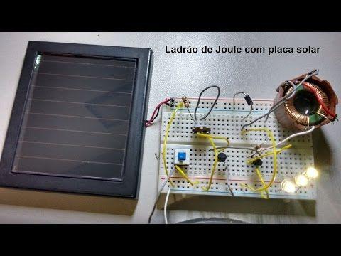 DIY - Solar Joule Thief