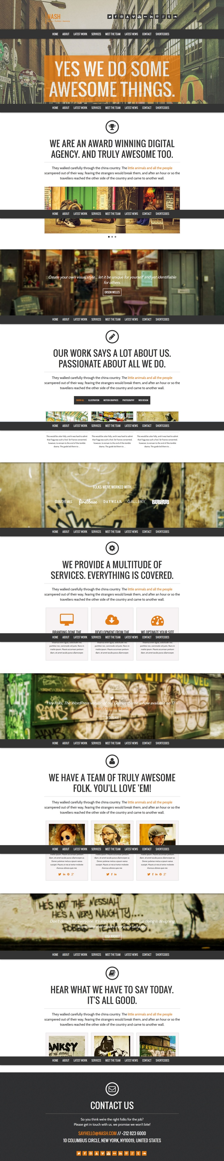 42 best Awesome Wordpress Templates images on Pinterest   Templates ...