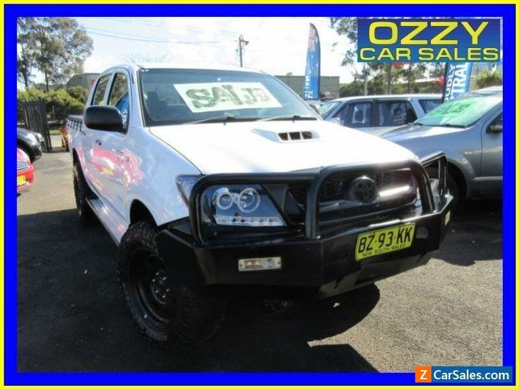 2009 Toyota Hilux KUN26R 09 Upgrade SR (4x4) White Automatic 4sp A #toyota #hilux #forsale #australia