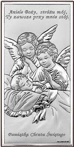 Obrazek Aniołowie Stróże Pamiątka chrztu- (BC#6468S) Pasaż Handlowy CDATA