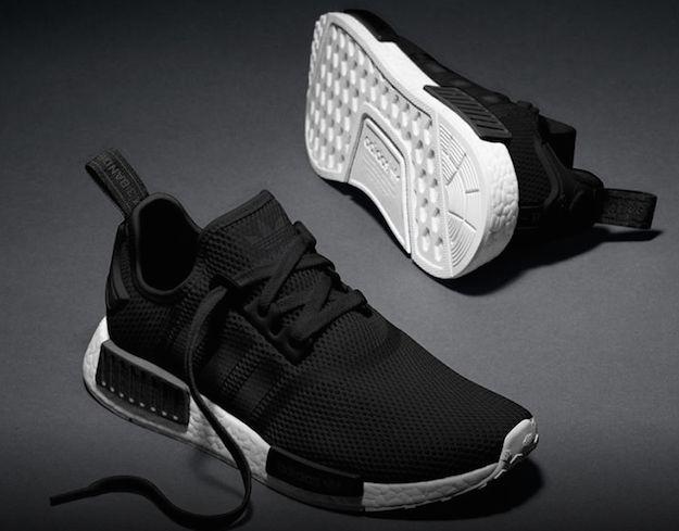 adidas nmd r1 mens black