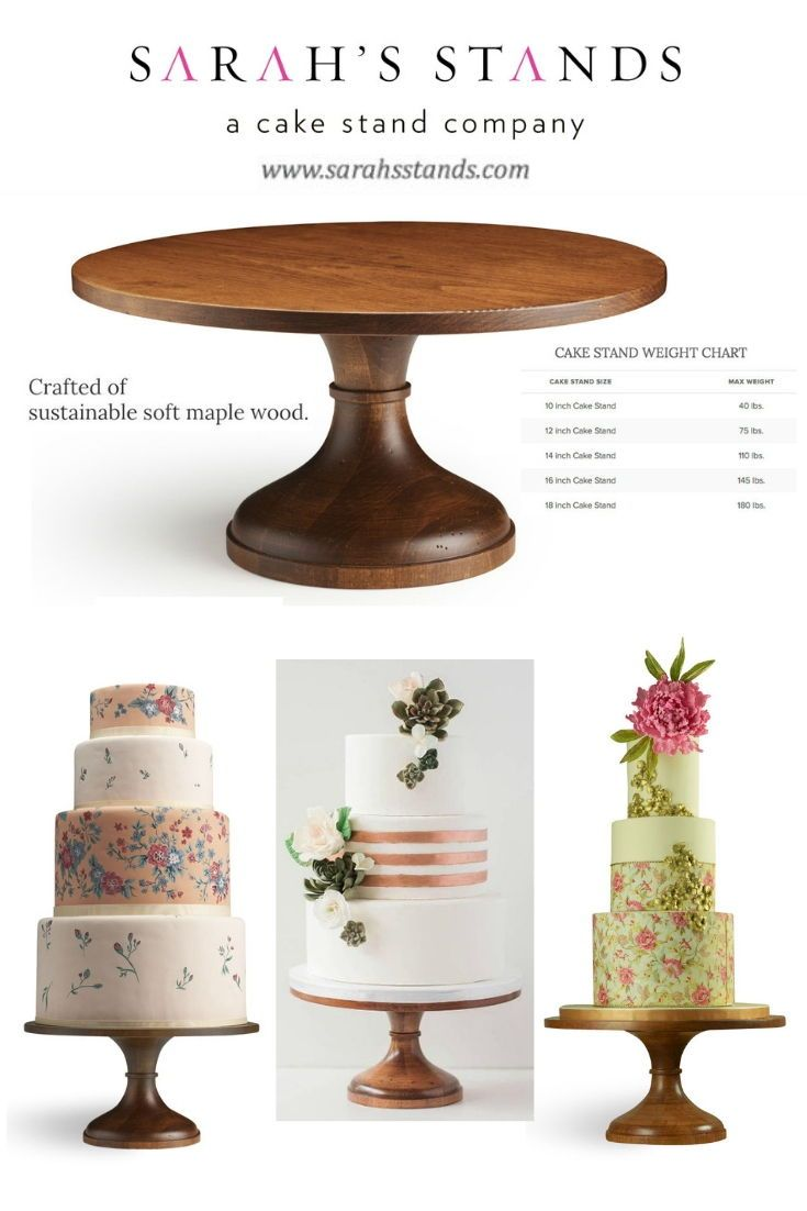 Sustainable Wood Natural Beauty Wedding Cake Stand Available In Sizes 10 Inch 12 Inch 14 Inch Sizes 1 Wood Cake Stand Wood Wedding Cakes Wooden Cake Stands