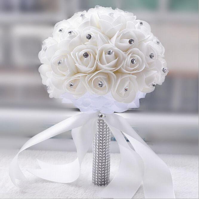 59 best Artificial Bridal Boquets images on Pinterest | Bridal ...