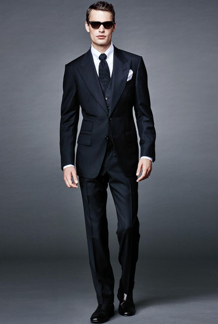 Tom Ford 'James Bond' 2016 Capsule Collection - Male Fashion Trends