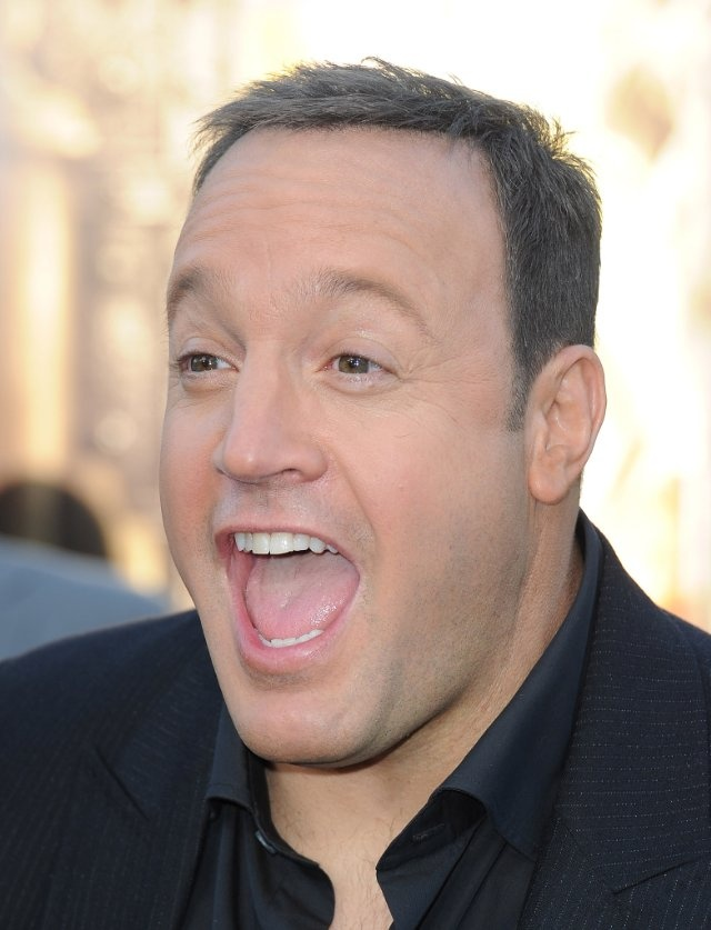 Kevin James - hilarious!  I think I've seen every episode of King of Queens!