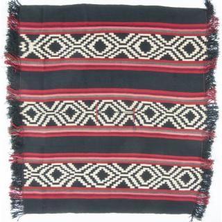 Mapuche Wool Poncho / Weaving