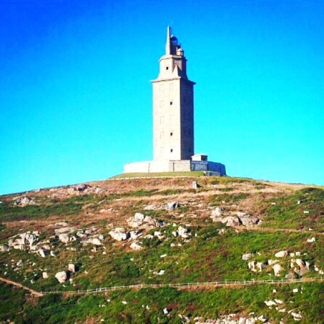 La Torre de Hércules - #Coruña  #Galicia #Spain I can see the lighthouse from my parent's house!