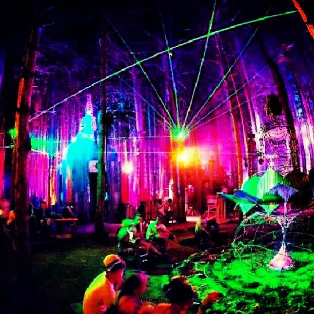 Electricforest. Im going here real soon(: Gunna be dope