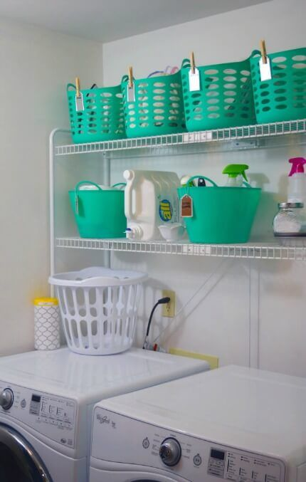 15 Clever Dollar Store Organizing Hacks