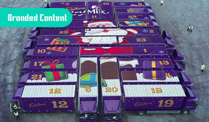 Cadbury sabe hacer branded content en Navidad