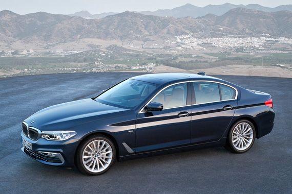 Седан BMW 5-серии 2017 / БМВ 5-серии 2017