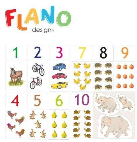 Flano siffror 1-10 ..... #bilderbok #flanosaga #siffror