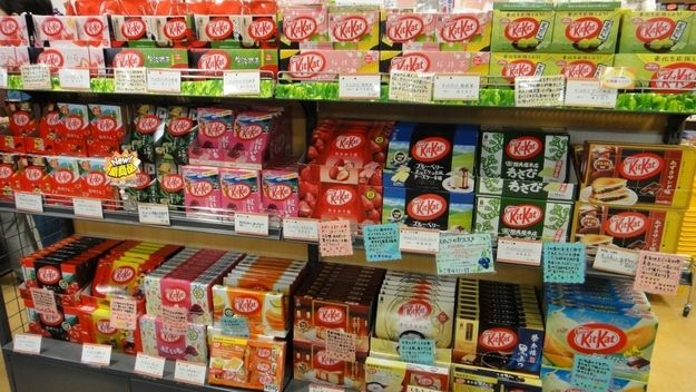 In Japan you can eat EVERY flavor of Kit Kat. | 27 Reasons We Should All Be Moving To Japan