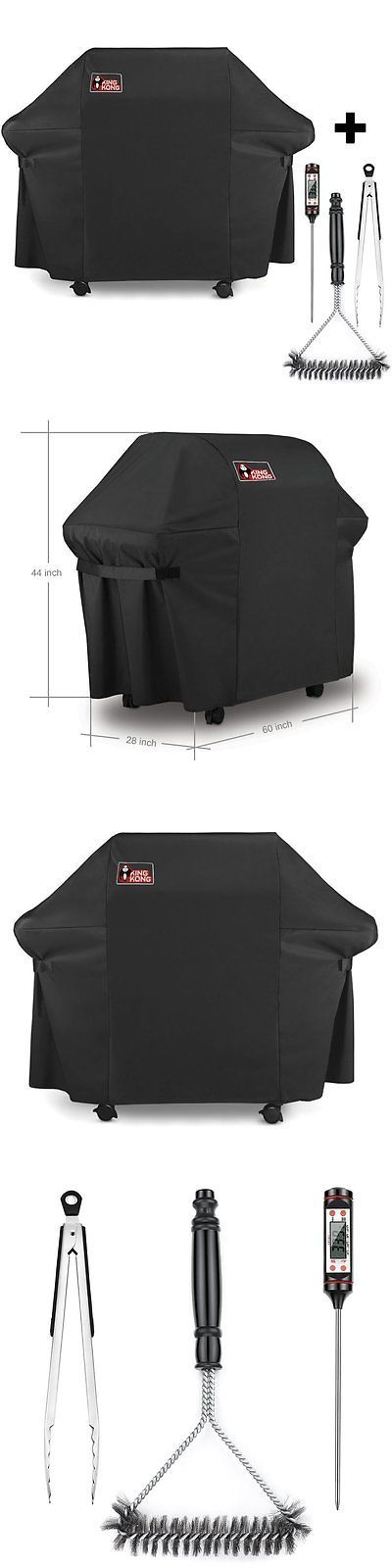 barbecue and grill covers kingkong 7553for weber gas grill cover kit