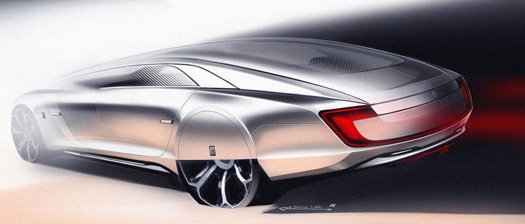 Rolls Royce Vision Autonomous on Behance