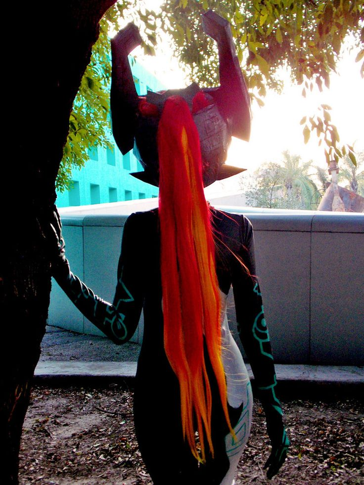 Fire - Midna Cosplay by MelodyZombie.deviantart.com on @DeviantArt