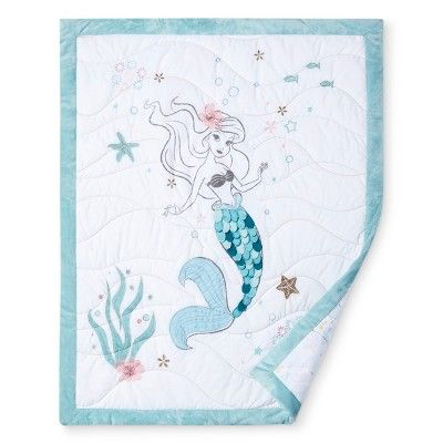Disney© Crib Bedding Set 3pc - Ariel Sea Princess