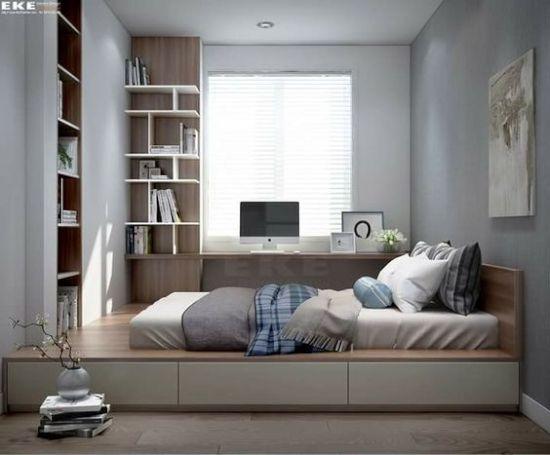 23 inspirasi kamar tidur unik dengan split level!   Desain ...
