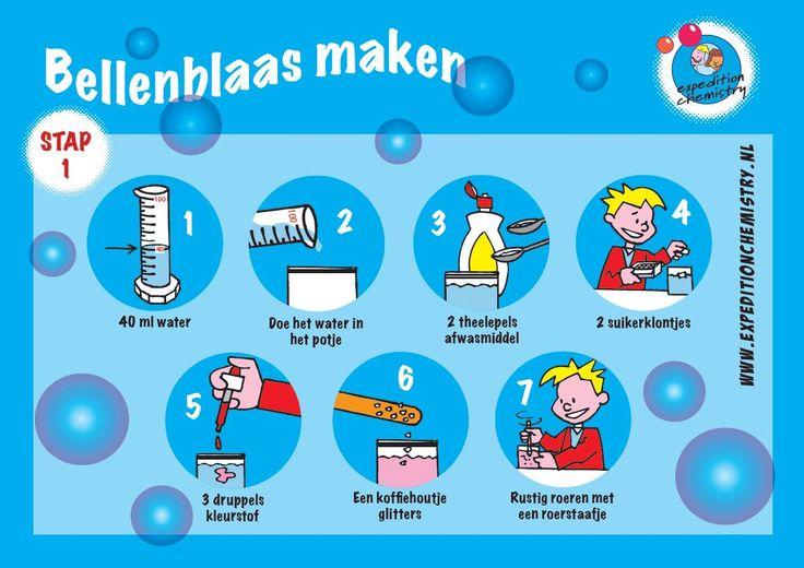 Draaiboek en werkbladen 'Maak de beste bellenblaas' - C3 Onderwijsmiddelen