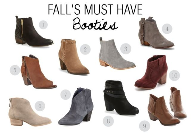 Well ladies, it's finally here…boot season!  One of my favorite things about Fall fashion are all the beautiful fall boots. Shopping for fall boots can be challenging because there are so many styles and colors to choose from so we are going to break it down for you this season and first up is the fall ankle boots. These ankle boots have a little bit of a heel but not too much so you can still manage to run around town and not be afraid of twisting an ankle. The other great part about ankle…