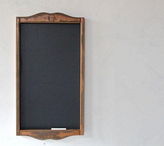 Framed Chalkboard Kitchen Menu Chalkboard Rustic