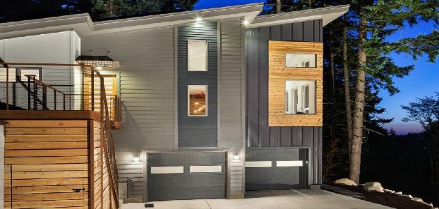 Modern Home Exterior Panels